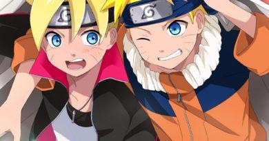 Boruto and Naruto