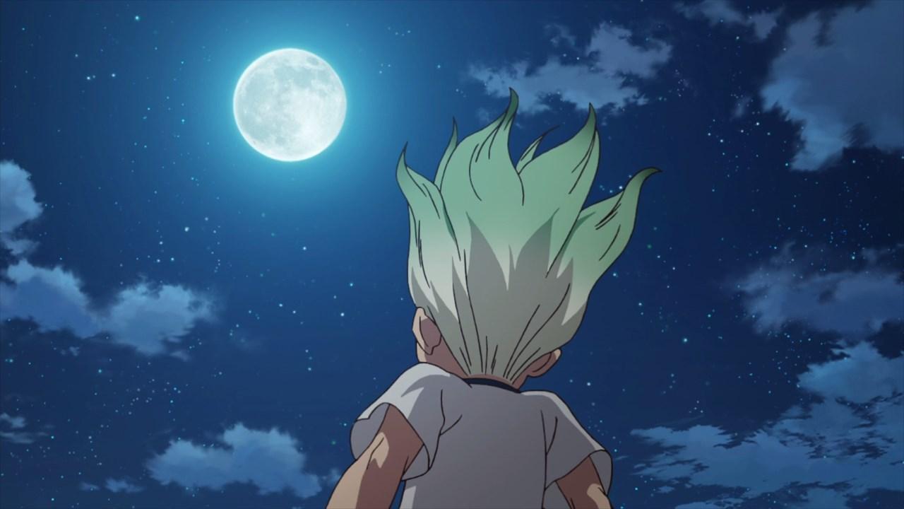 Senku moon Dr Stone Chapter 147