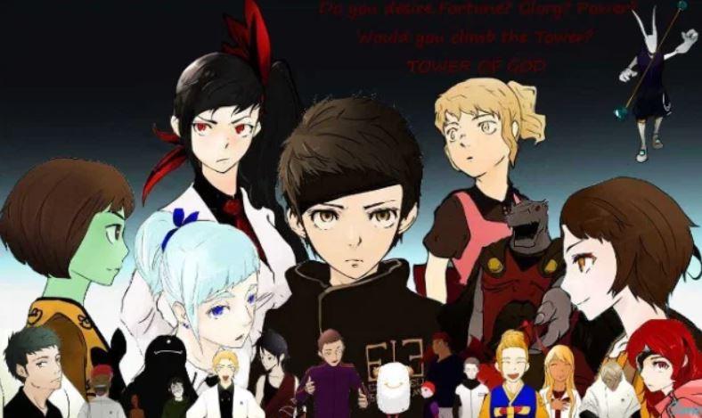 Tower of God webtoon