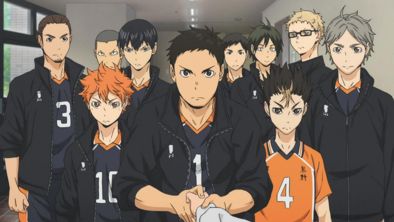 Anime similar to Haikyuu