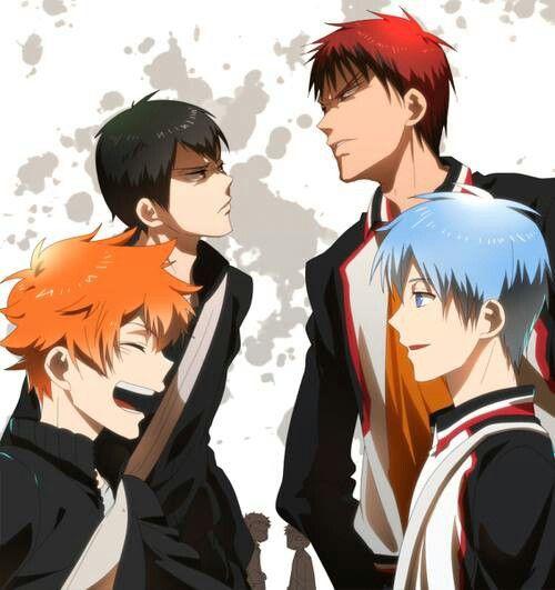 haikyuu and kuroko no basket